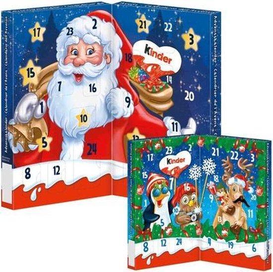 December cadeautjes - Adventskalender van Kinder - Feestdagen cadeautjes tips van Foodinista