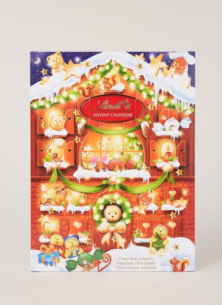 Adventskalender voor foodies - Lindt Adventkalender voor foodies - Cadeau tips van Foodinista