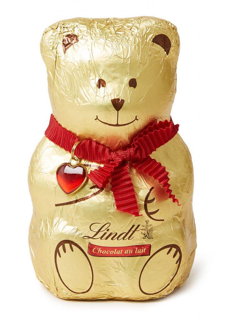 Chocolade cadeautjes voor de feestdagen - Lindt Chocolade beertje - Cadeau tips van Foodinista