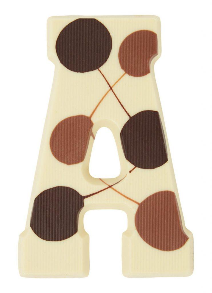 Luxe Witte Chocoladeletter - Sinterklaas cadeautjes tips voor foodies - Foodblog Foodinista