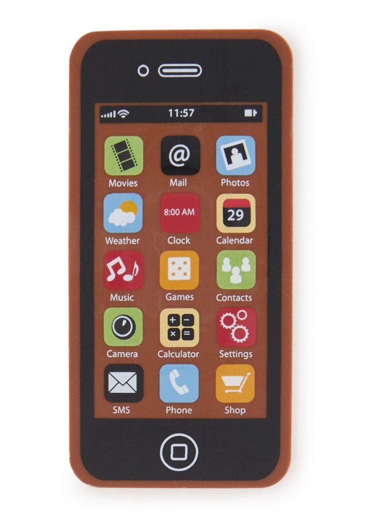 Smartphone van chocolade - Ludieke Chocolade cadeautjes - Sinterklaas cadeautjes tips van Foodinista