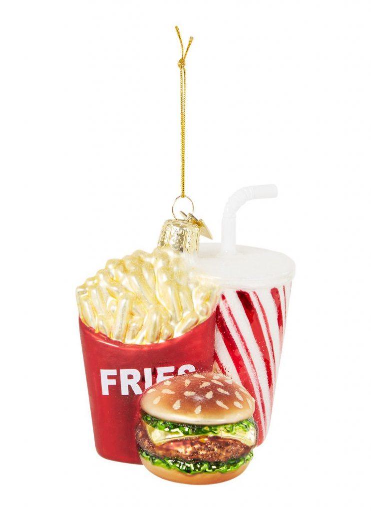 Fastfood kerstboomhanger - Kerstcadeautjes tips van Foodinista