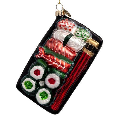 Sushi kerstboomhanger - Foodie kerstballen tips van Foodinista