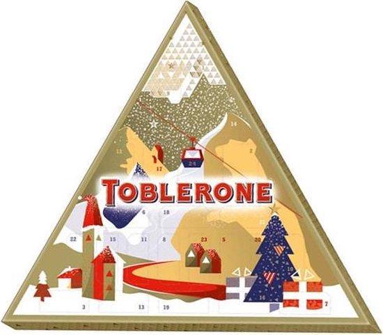 Toblerone Adventskalender - Leuke Decembercadeautjes - Foodblog Foodinista