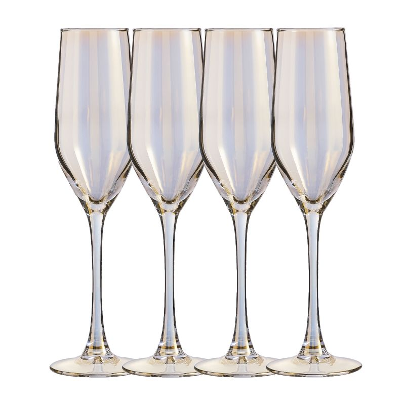Gouden champagneflutes - Shop tips van Foodblog Foodinista