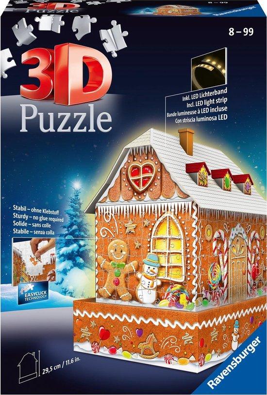 Gingerbread huis puzzel - kerstcadeautjes tips voor kids van Foodblog Foodinista