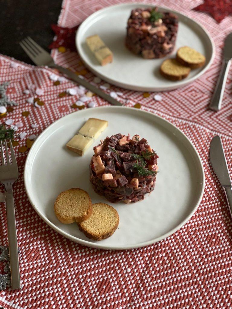Recept met Morbier -Koken met bietjes en kaas -Fris torentje met bietjes en morbier - Foodblog Foodinista