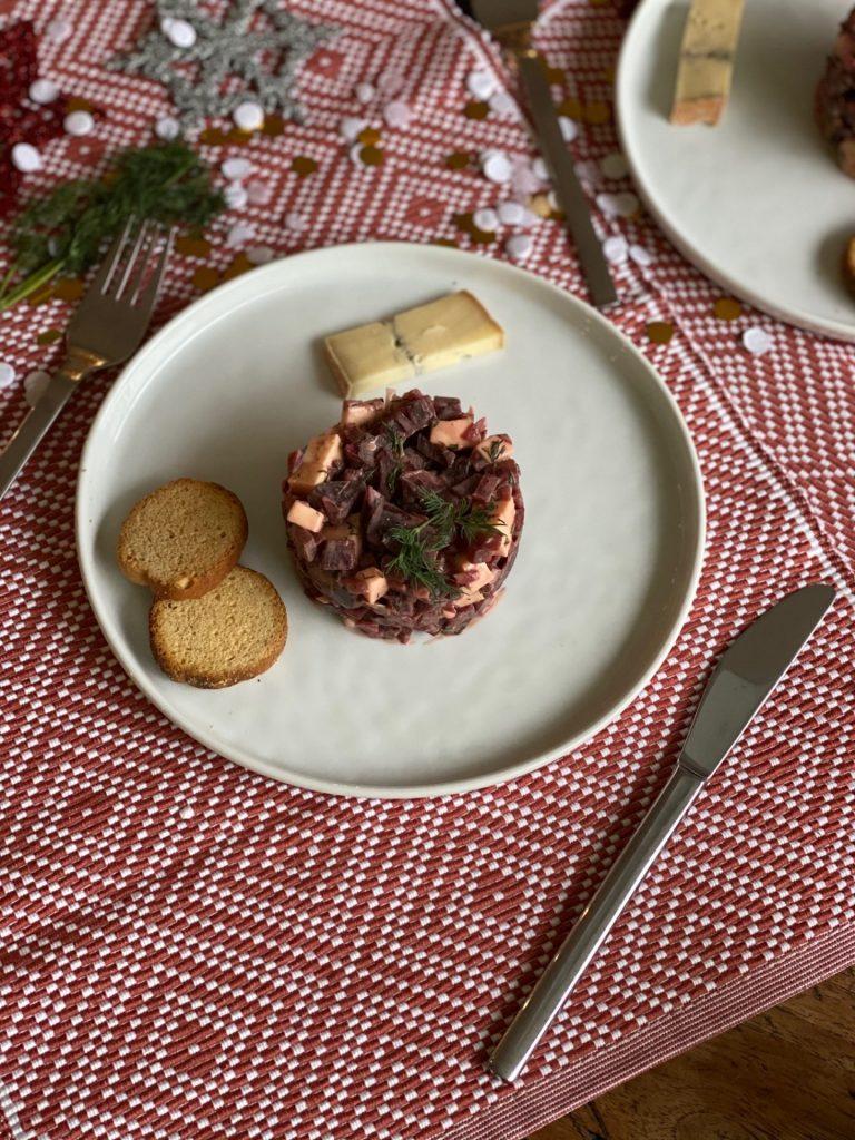 Koken met bietjes en kaas -Fris torentje met bietjes en morbier - Foodblog Foodinista