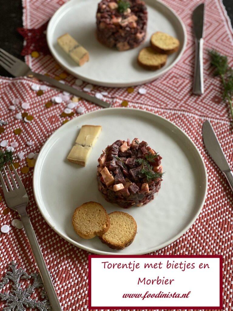 Torentje met bietjes en morbier - Foodblog Foodinista