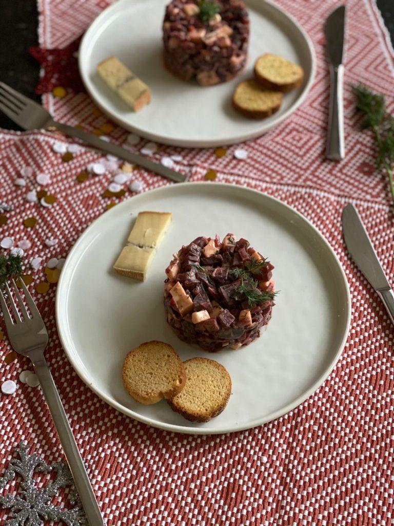 Fris torentje met bietjes en morbier - Recept met kaas en bietjes - Foodblog Foodinista