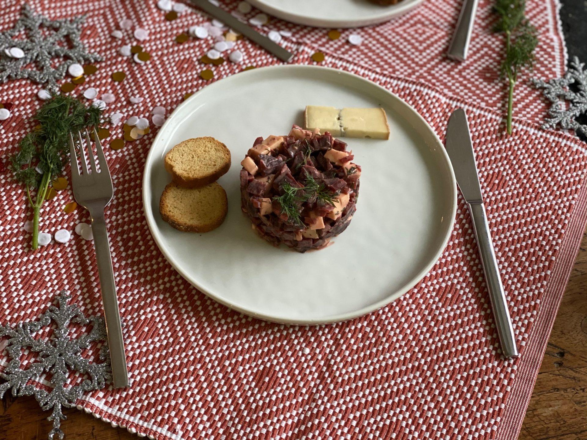 Fris torentje met bietjes en morbier - Foodblog Foodinista