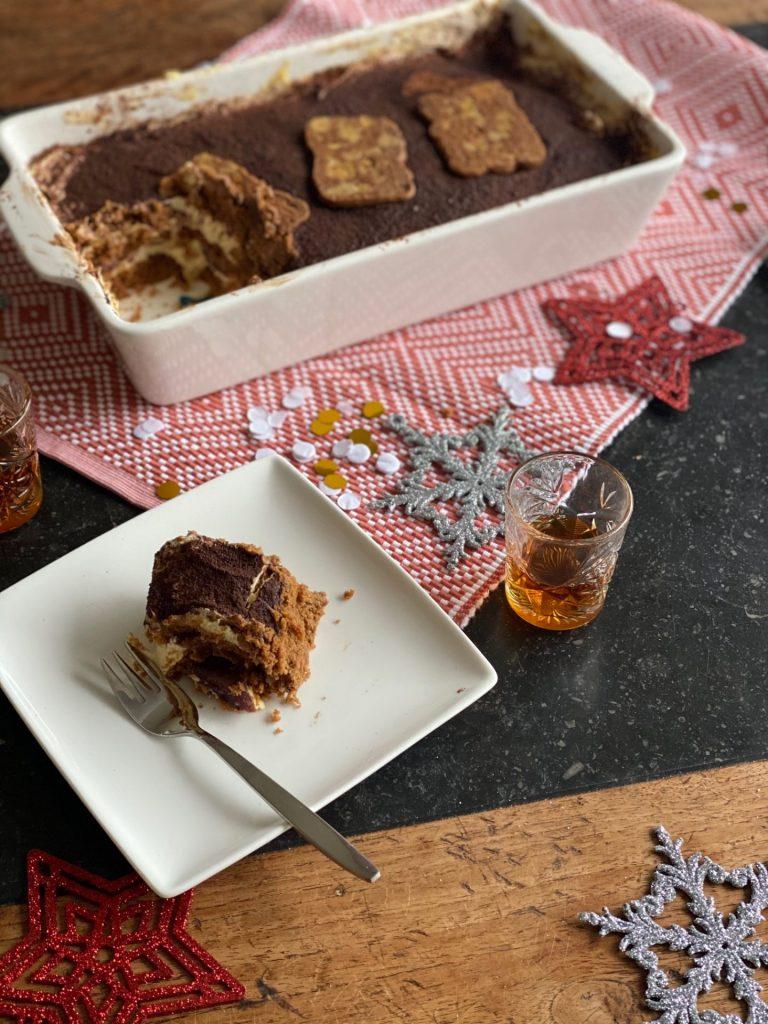 Kerst Tiramisu recept met speculaas en stoofpeertjes - Foodblog Foodinista