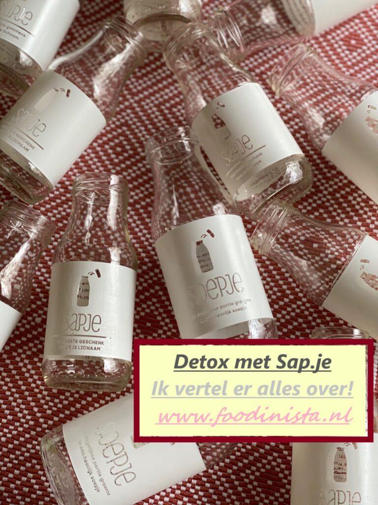 Opfrisbeurt voor je lichaam - Detox met Sap.je