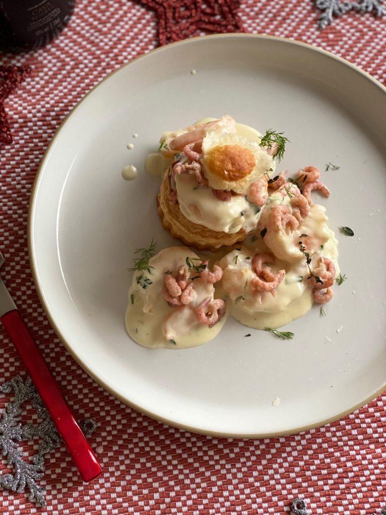 Ragout met gamba's en Hollandse garnalen in romige champagnesaus - Recept van Receptenblog Foodinista