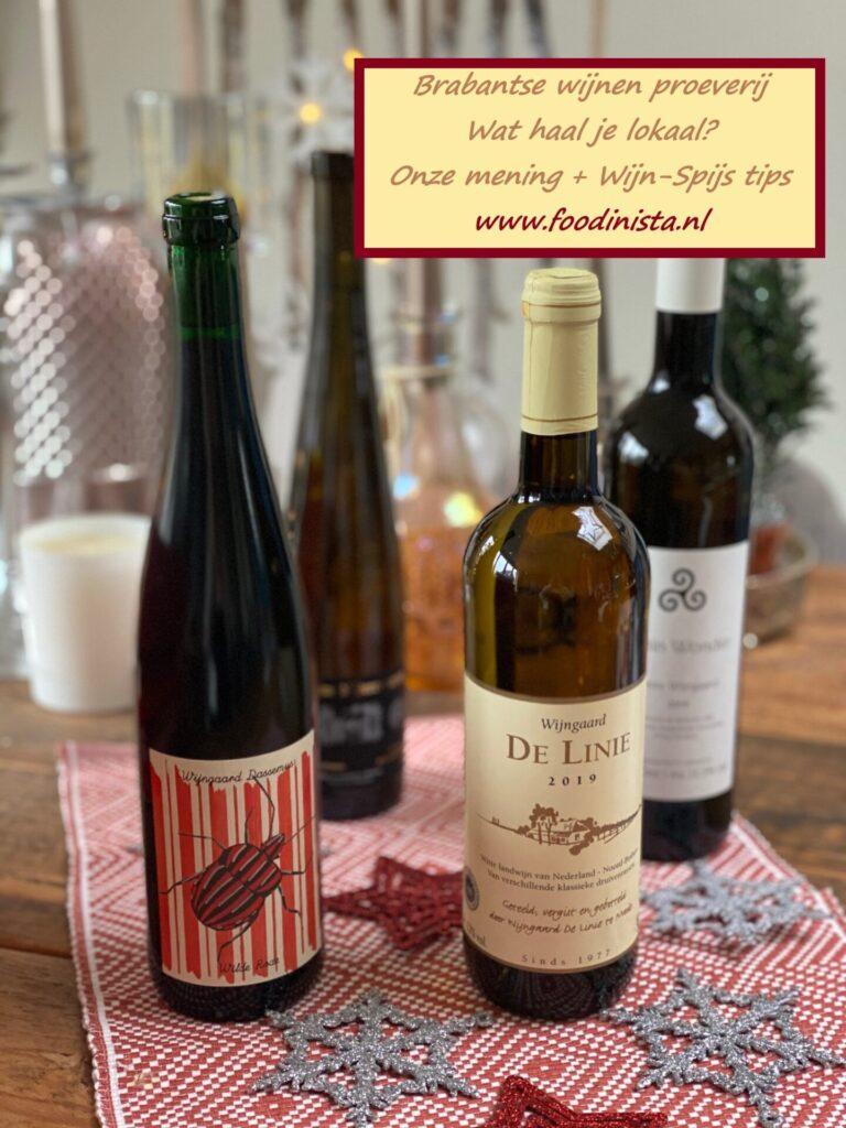 Wijn uit Brabant - Ontdek onze eigen wijnen +wijn spijs tips