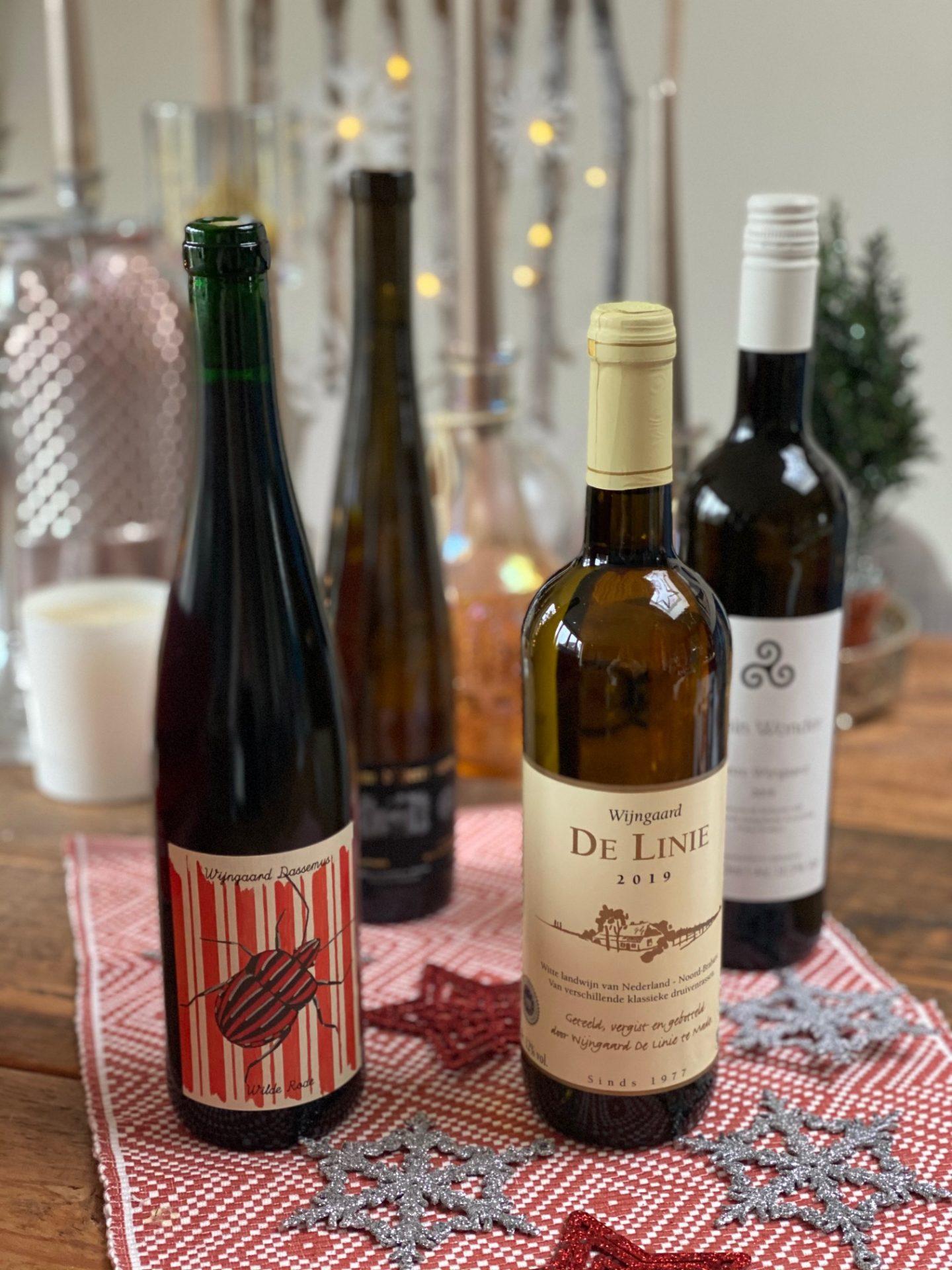 Wijn uit Brabant - Kies voor onze eigen tijdens de feestdagen