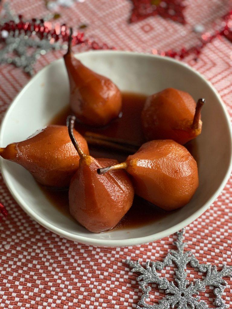 Stoofpeertjes recept bereid in Port - Foodblog Foodinista