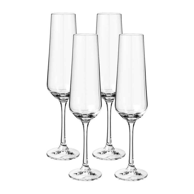 Kristallen champagneflutes - Shop tips van Foodblog Foodinista