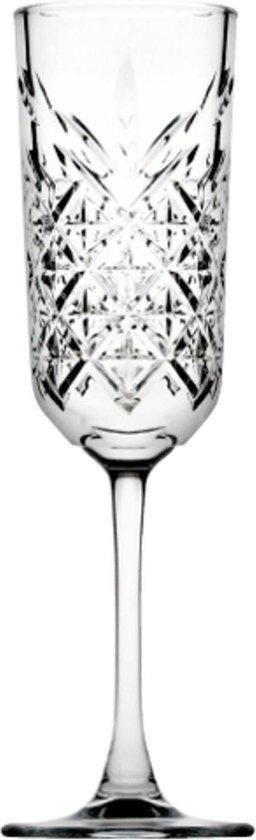 Kristal look Retro champagneflutes - shop tips van Foodblog Foodinista