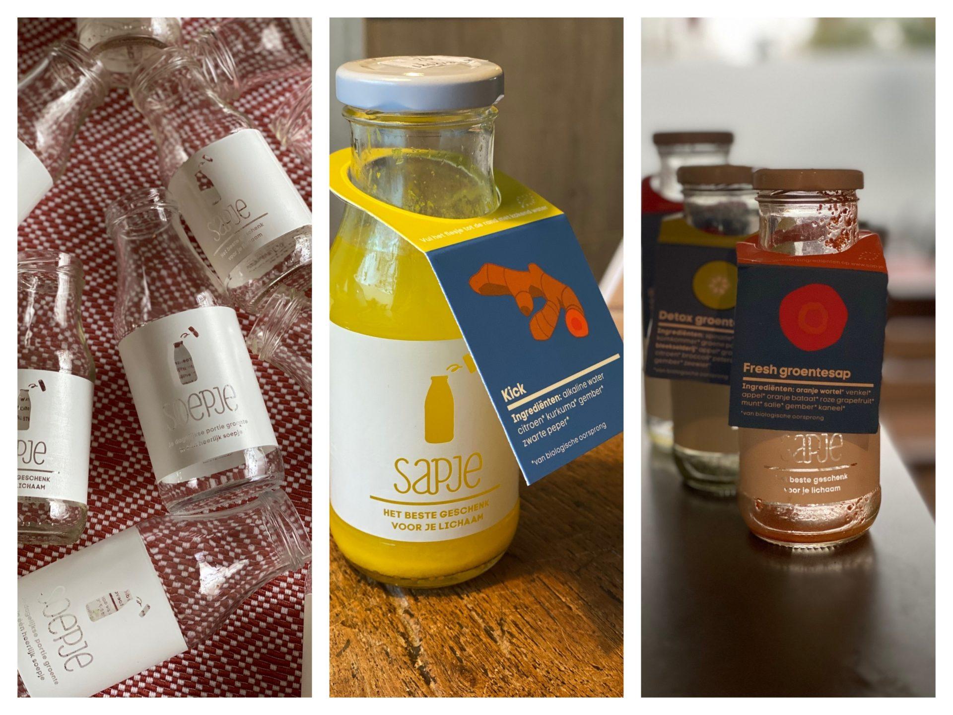 Sapje detox kuur Collage - Foodblog Foodinista