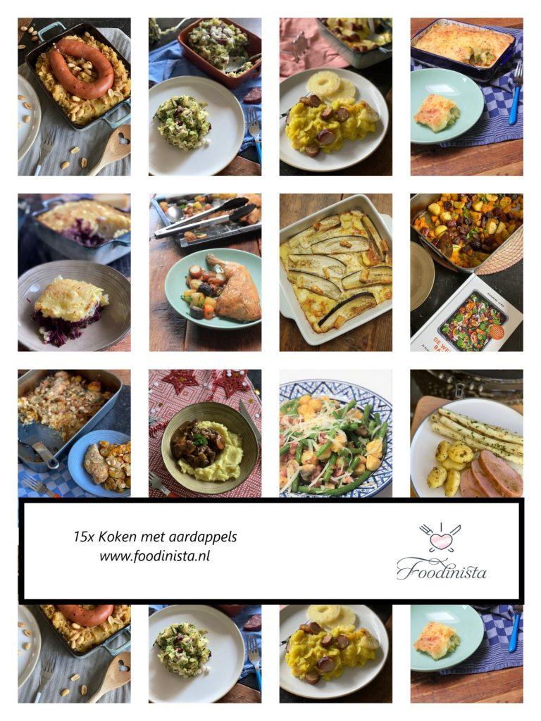 15x koken met aardappels - Wat kan ik met aardappels maken - Foodblog Foodinista