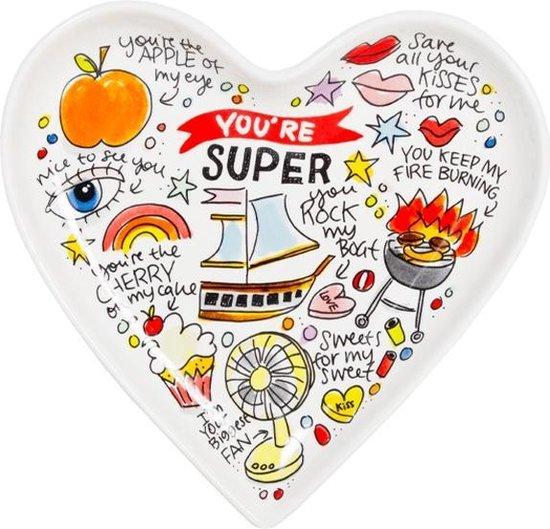 Valentijns bord van Blond Amsterdam - Valentijnsdag cadeautjes tips Foodinista
