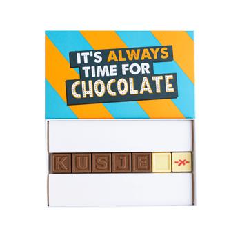 Chocolade verrassing door de brievenbus voor Valentijnsdag - Valentijnsdag tips van Foodblog Foodinista