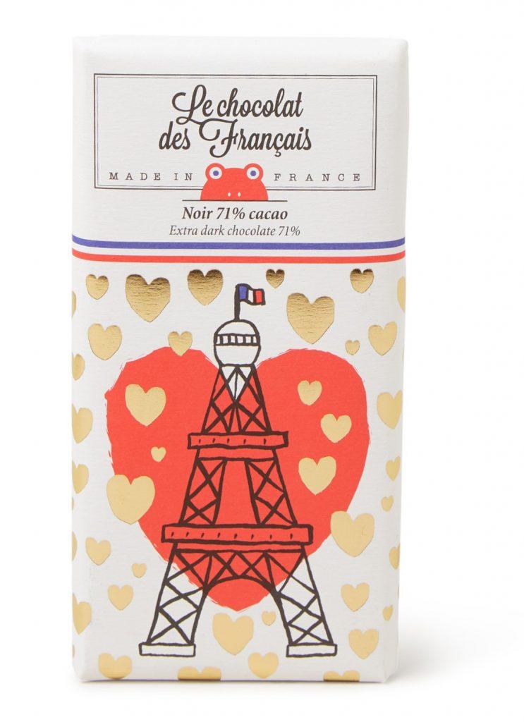 Chocoladereep Parijs - Eiffeltoren liefdeverklaringsreep - Foodblog Foodinista Valentijnsdag kleine cadeautjes tips