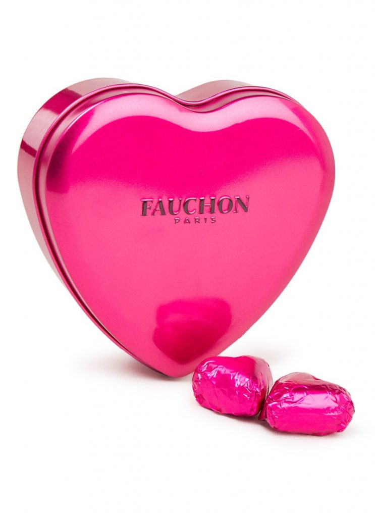Fauchon Parijs hartjes bonbons - Chocolade voor Valentijnsdag - Cadeau tips voor Valentijnsdag van Foodblog Foodinista