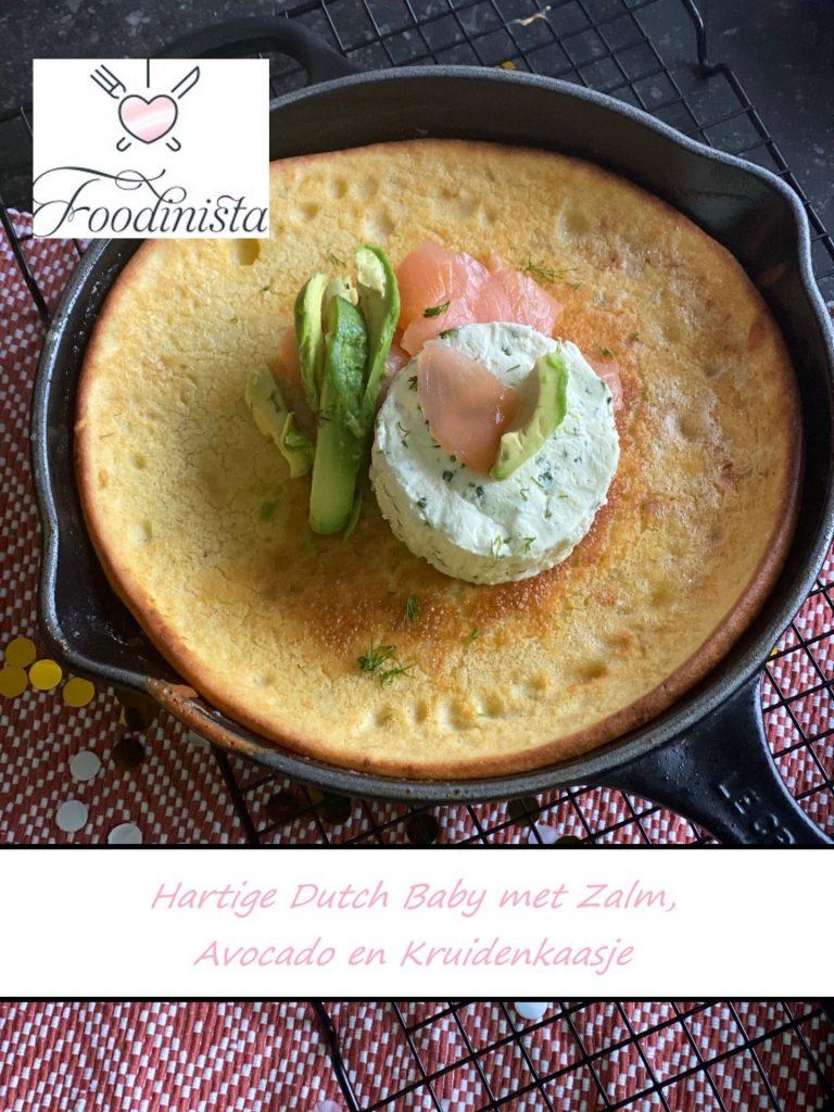 Recept Hartige Dutch met zalm, avocado en kruidenkaasje van Foodblog Foodinista