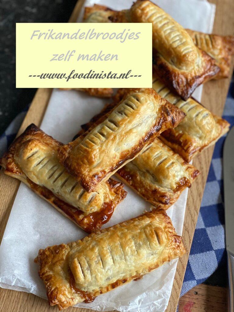 zelf frikandelbroodjes maken - recept van Foodblog Foodinista
