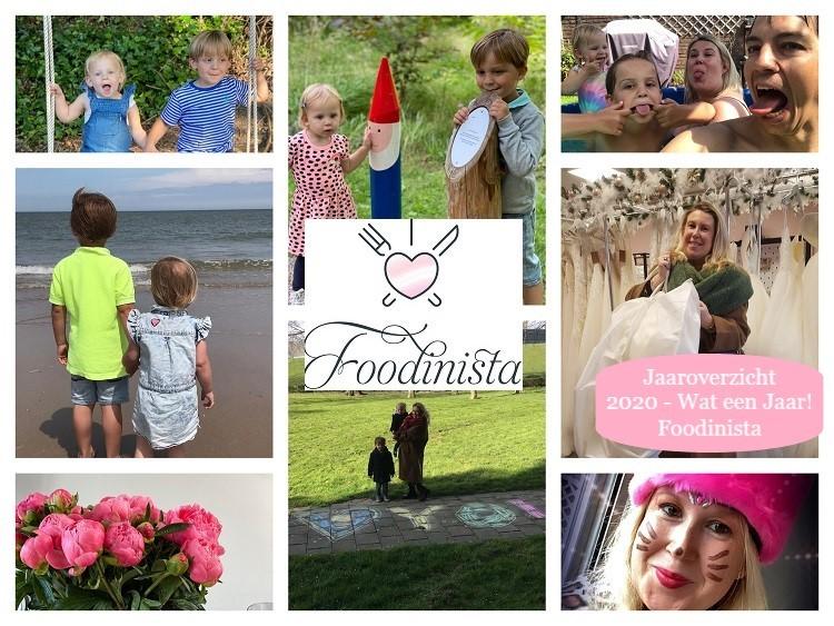 Foodblog Foodinista Jaaroverzicht 2020 – Wat een jaar!