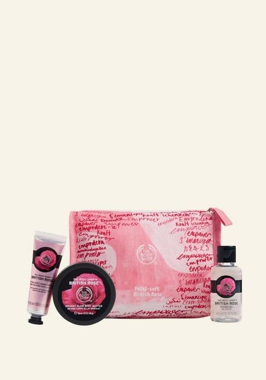 Rose collectie voor Valentijnsdag van The Body Shop - Cadeautjes tips voor Valentijnsdag
