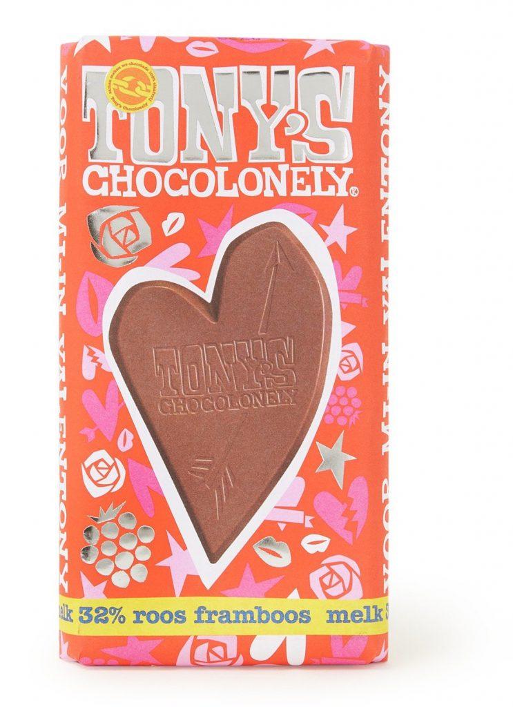 Tony's Chocolonelly Chocoladereep voor Valentijnsdag - Valentijnsdag cadeautjes tips van Foodblog Foodinista