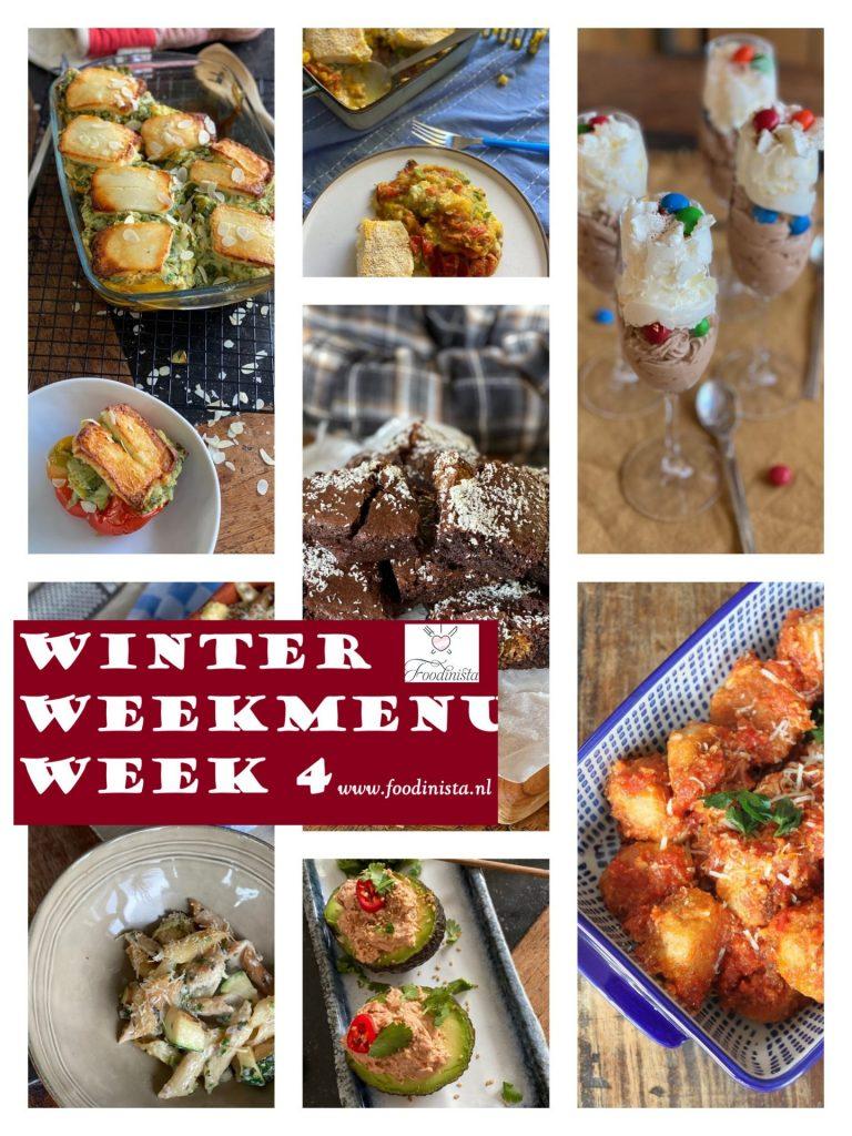 Winter Weekmenu Week 4 Foodblog Foodinista