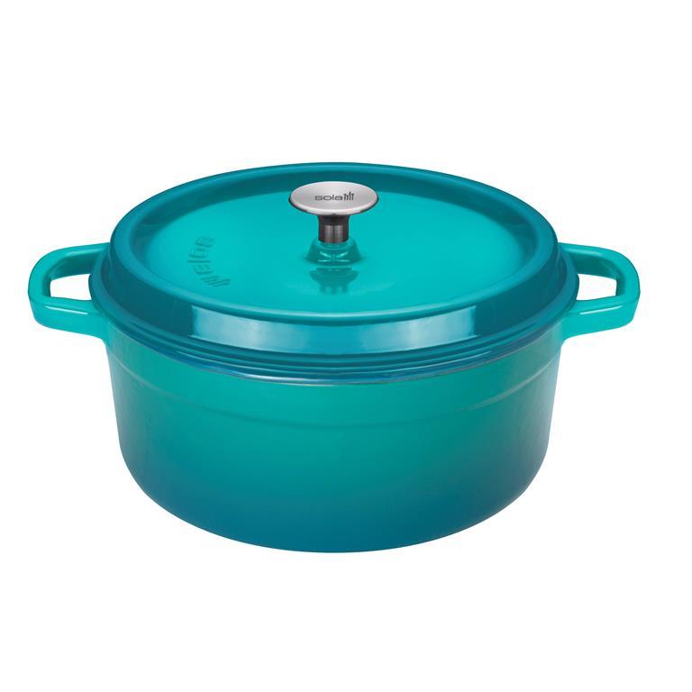 Sola Turquoise Braadpan met korting kopen - Shop tips van Foodinista