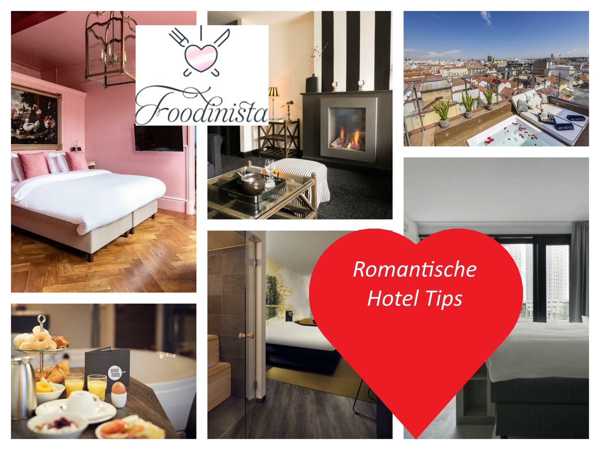 15 Tips voor Romantische hotels
