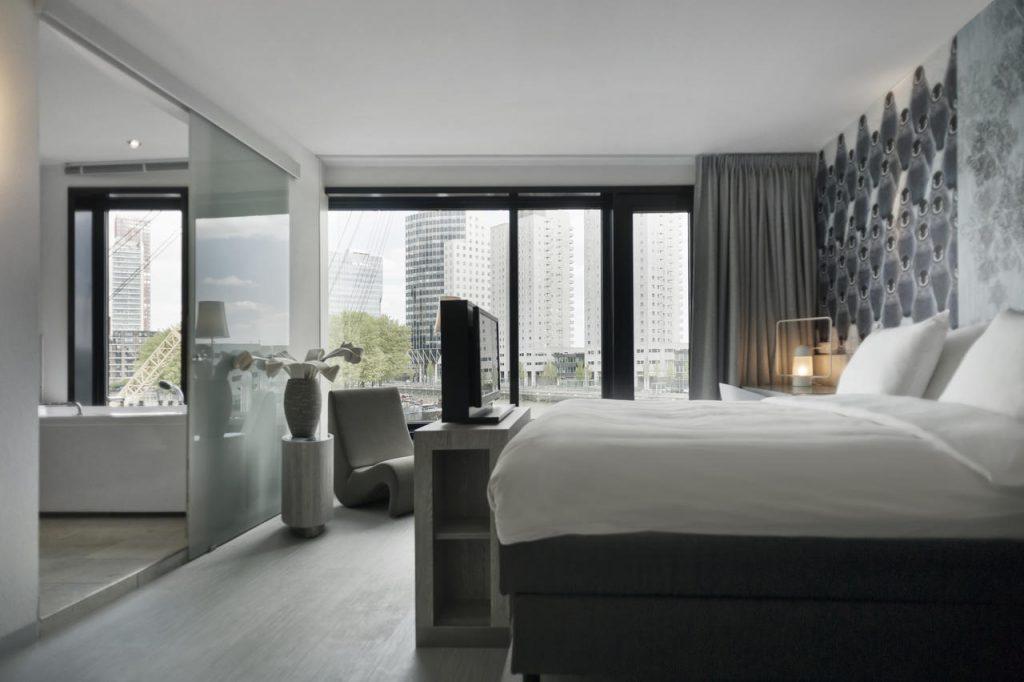 Romantische hotel tips in Rotterdam - Mainport Spa Hotel - Tips van Foodinista