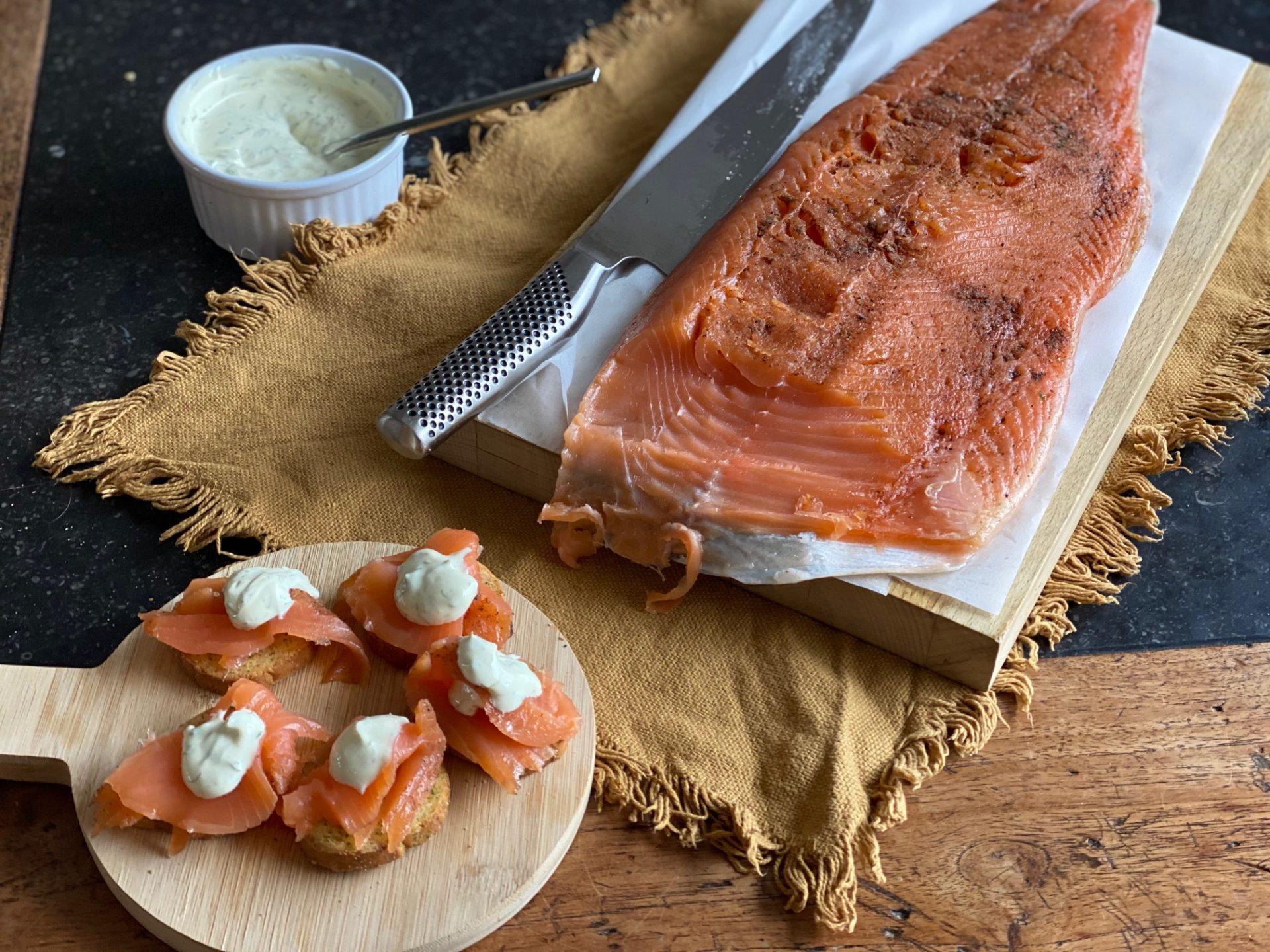 Zelf Gravad Lax Maken - Gravad Lax Maken met 5 spices - Recept van Foodinista