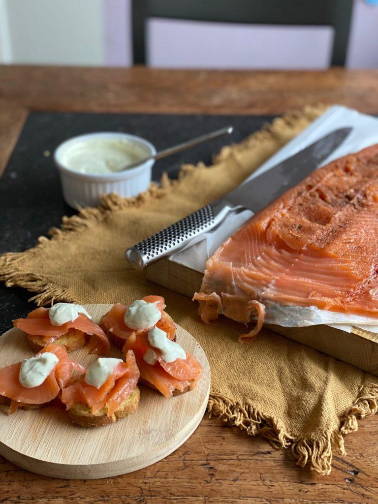 Hoe maak je zelf Gravad Lax? Gravad Lax recept met 5 spices van Foodblog Foodinista