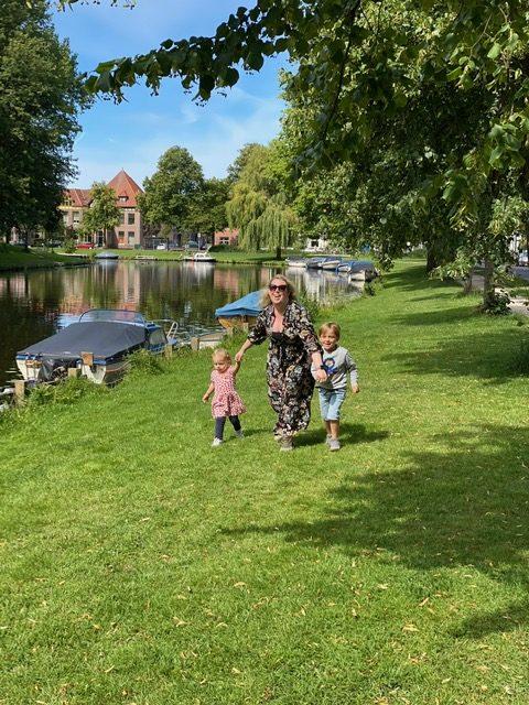 Wandelen in het mooie Kleverpark in Haarlem Noord - Tips in Haarlem met Kinderen