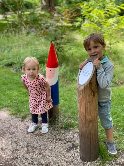 Kabouterpad lopen Kweektuin in Haarlem - Leuke tips met kinderen in Haarlem - Weekendje weg tips met kinderen Foodinista