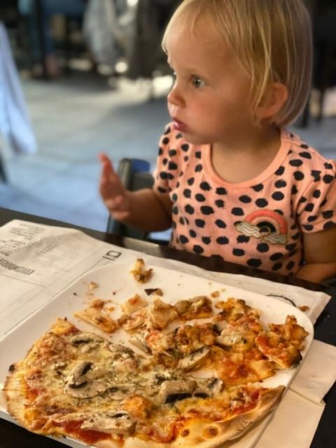 Pizza eten in Haarlem - Kidsproof eten in Haarlem