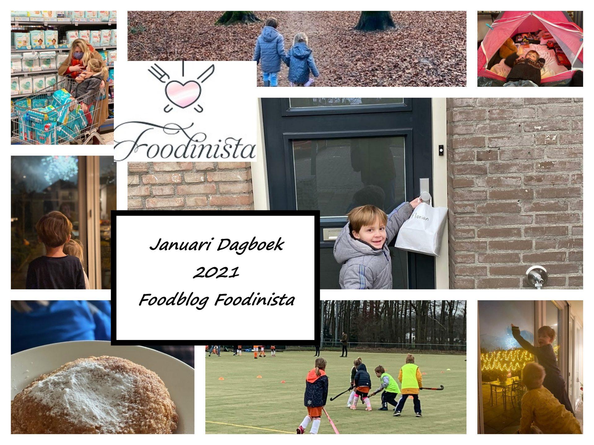 Nieuws, wat hebben we gedaan, kijk je mee? – Foodblog Maandoverzicht – Januari 2021 van Foodinista