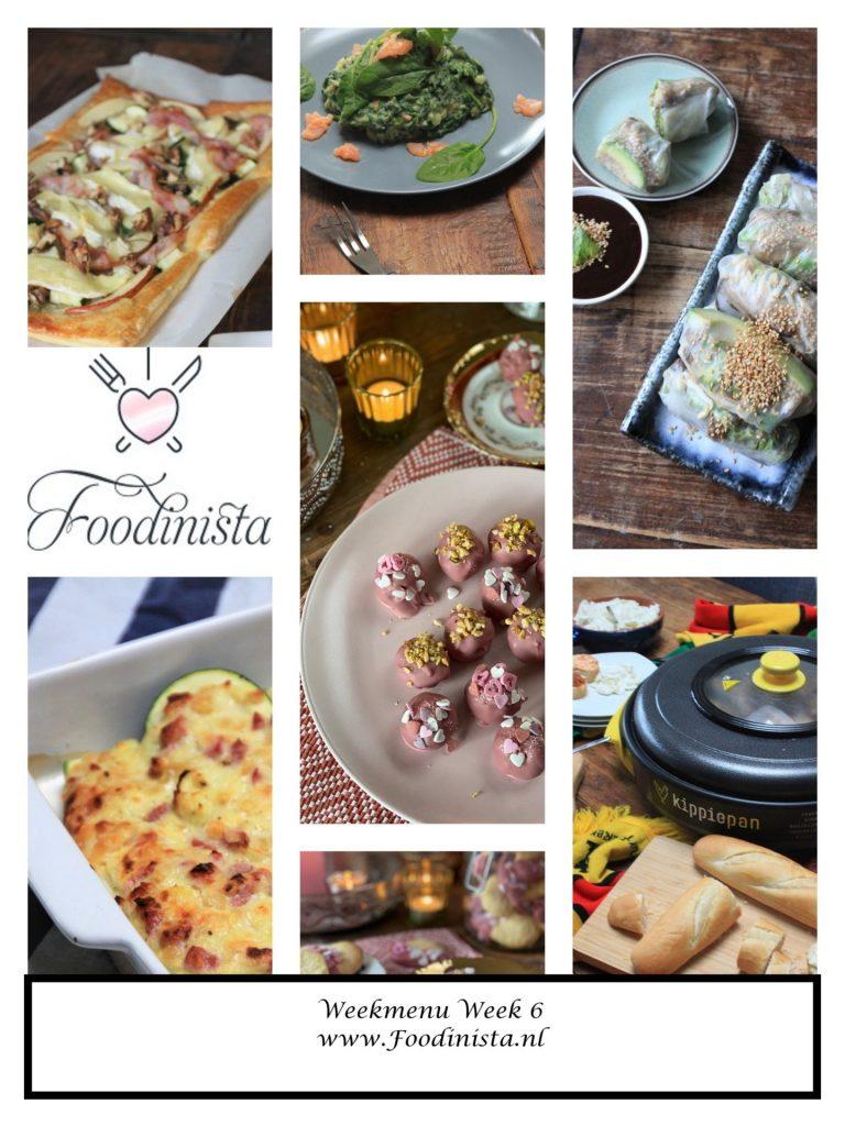 Foodblog Foodinista weekmenu – Wat eten we deze week? – Weekmenu Week 6 Winter 2021 - Foodblog Foodinista