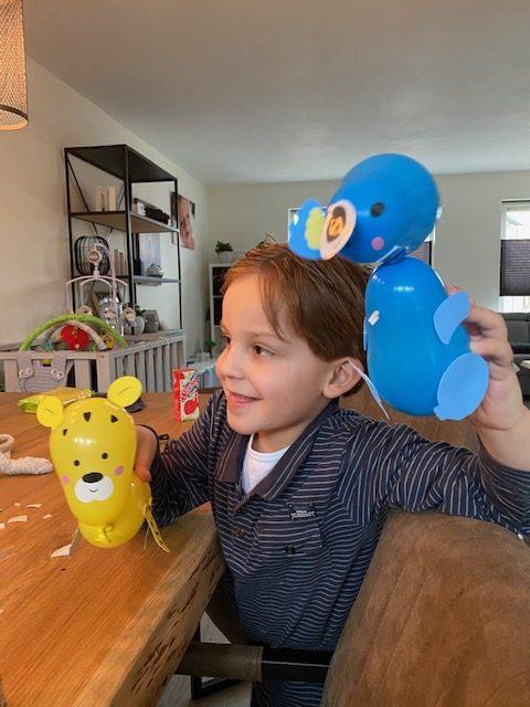 Ballon dieren maken - knutselen met kinderen