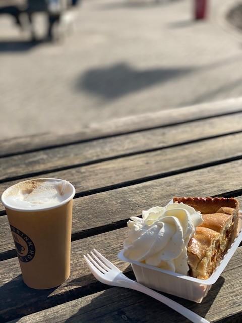 Koffie en Appeltaart to go