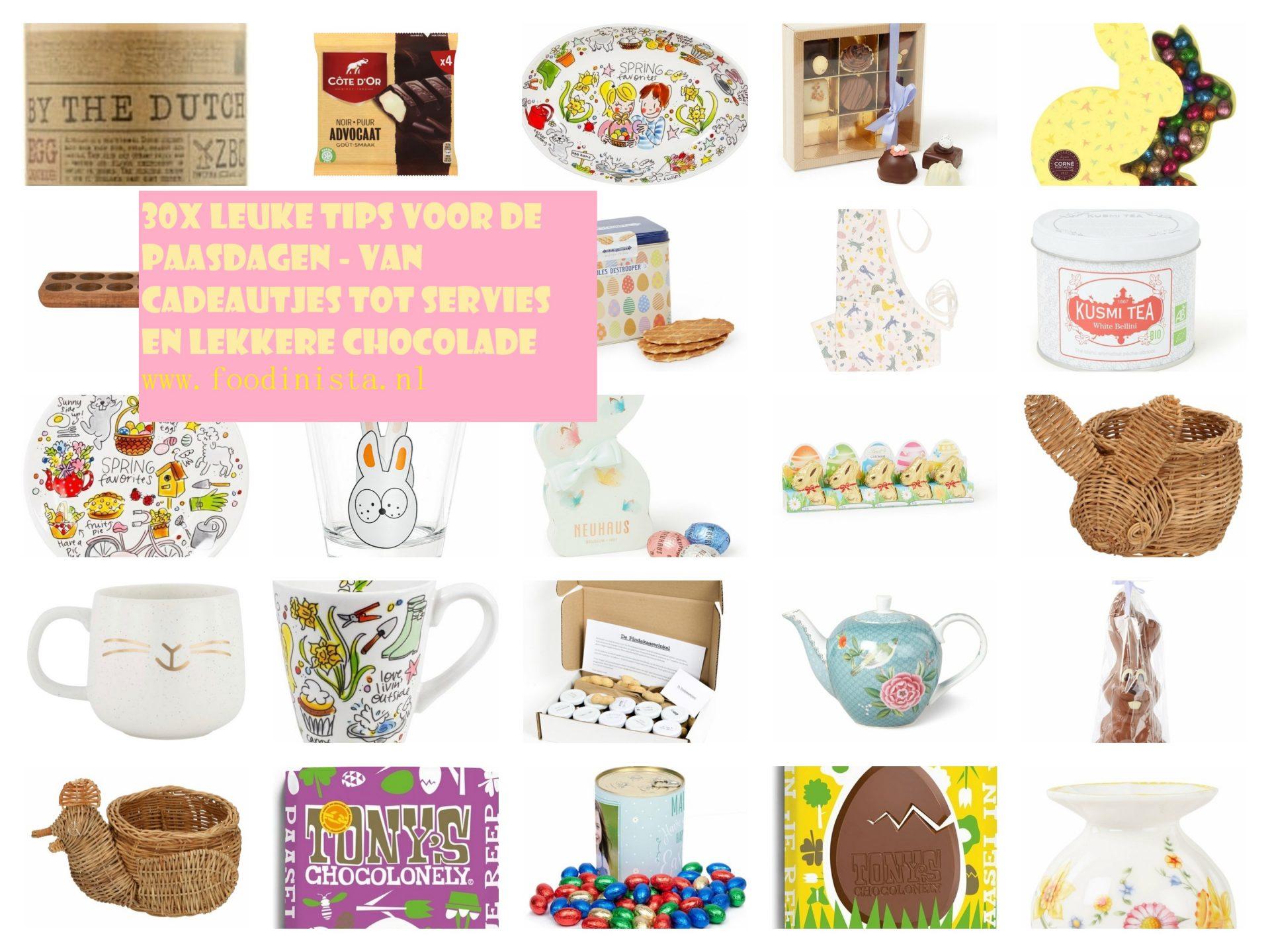 Daphne's Lente Happy Musthaves Wk 1 – 30x Heerlijke Pasen cadeautjes - Versieringen, chocolade, servies en ideeën voor Pasen - Foodblog Foodinista
