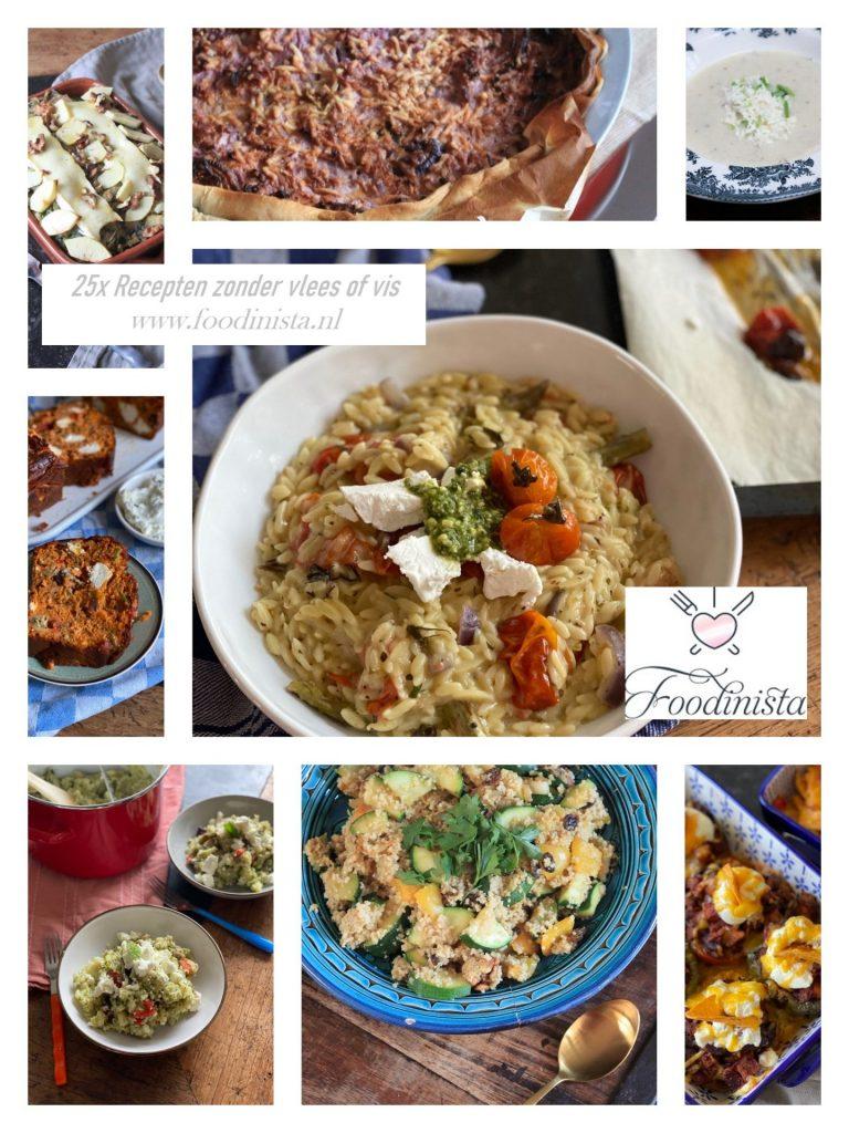 25 Recept ideeën voor de Week zonder vlees