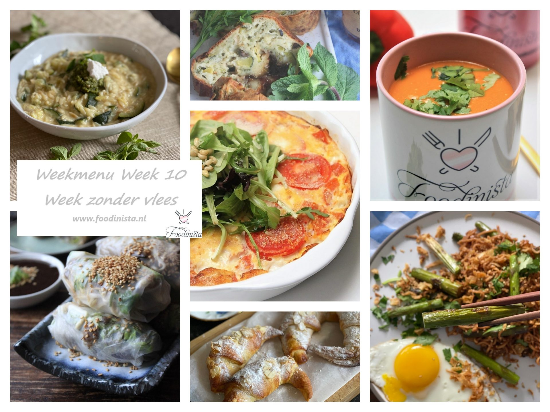 Week zonder vlees weekmenu - Winter weekmenu week 10